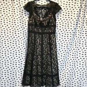 Ann Taylor LOFT Lace Evening Dress